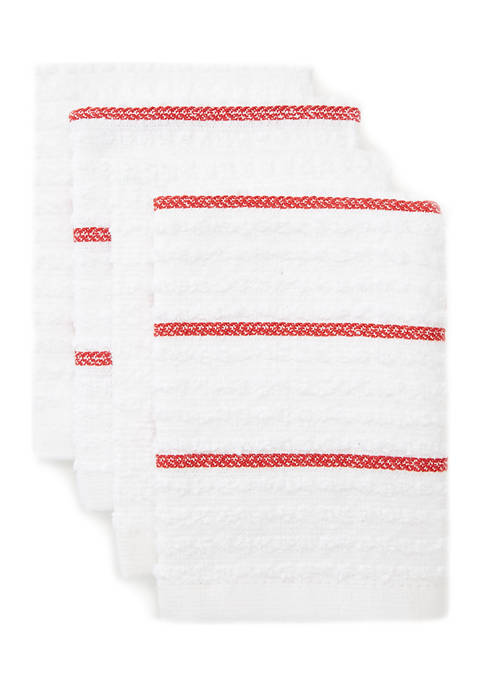 Set of 4 Terry Dish Towels
