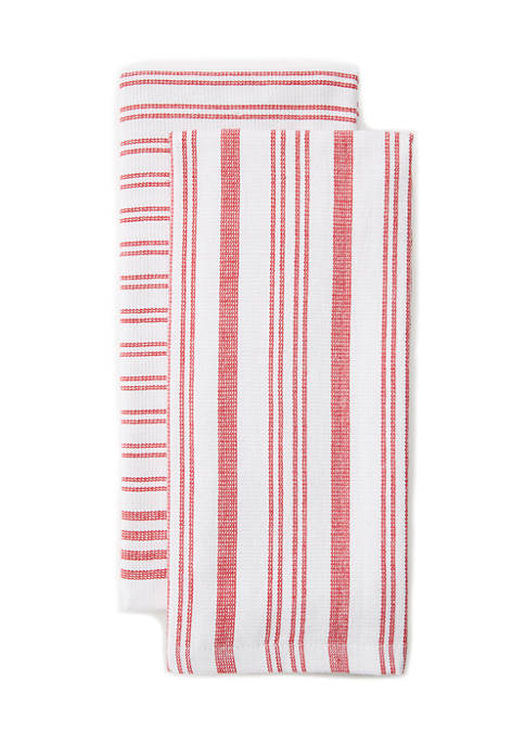 Set of 2 Terry Kitchen Towels