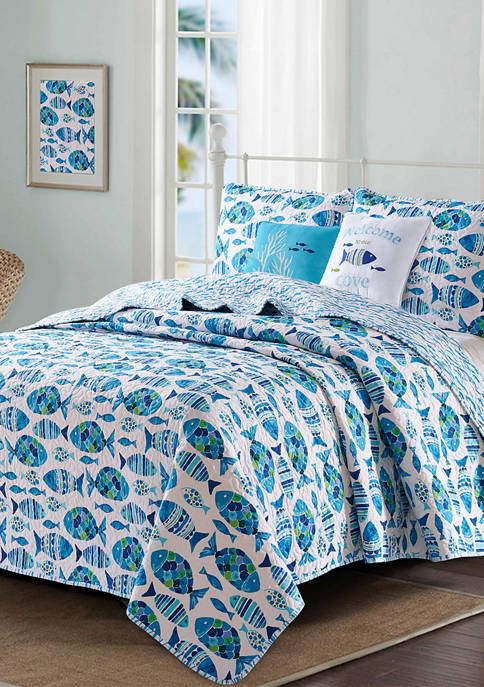 Welcome Cove Quilt Set