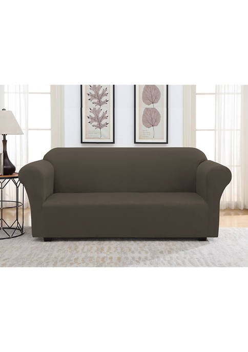 Harper Lane Faux Suede Slipcover for Sofa