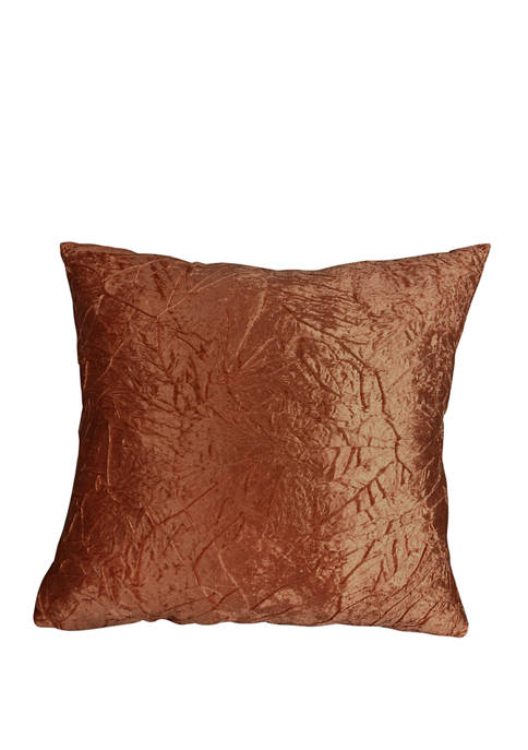 Harper Lane Nile Crushed Velvet Decorative Throw Pillow