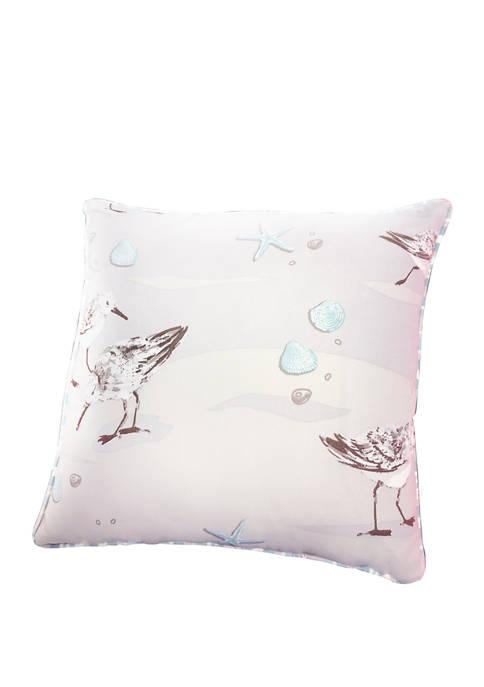 Harper Lane Sandpiper Decorative Throw Pillow