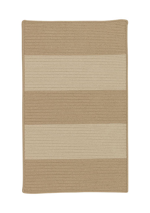 Colonial Mills Newport Textured Stripe Area Rug Collection