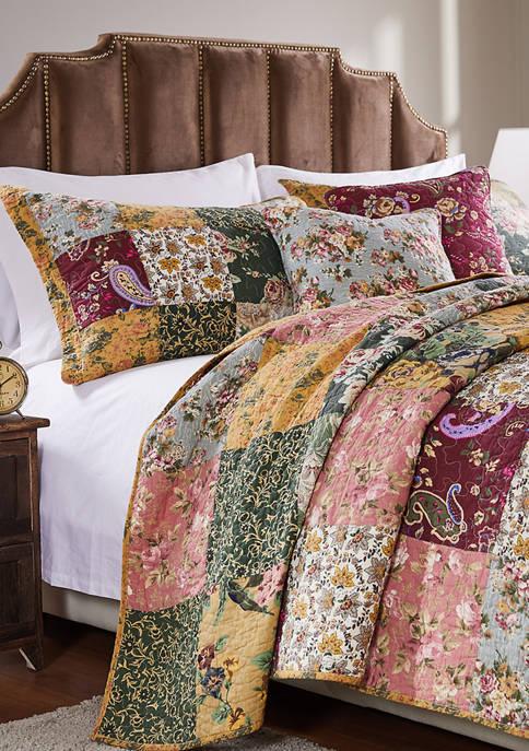Antique Chic Quilt Set with Bonus Pillows