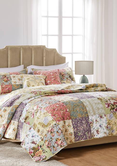 Blooming Prairie Quilt Set with Bonus Pillows