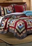 Colorado Lodge Quilt Set with Bonus Pillows