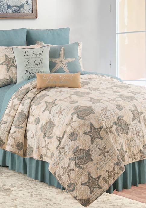 Amber Sands Coastal Quilt Set