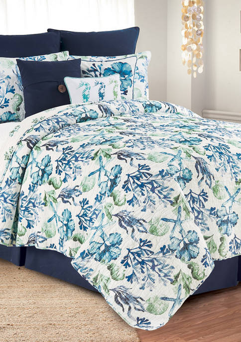 C&F Bluewater Bay Coastal Quilt Set
