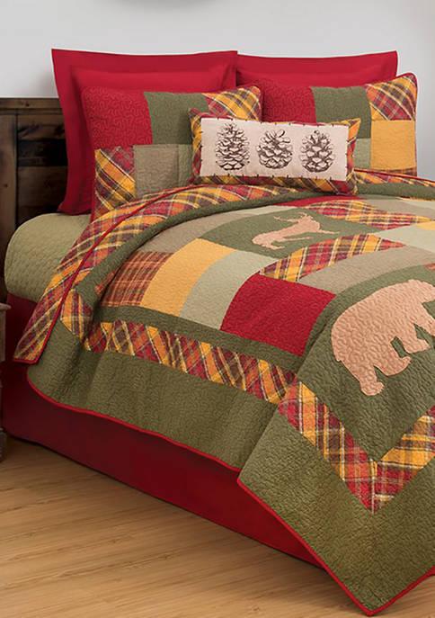 Buckleyl Rustic Lodge Quilt Set