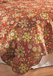 Ghisella Floral Quilt Set