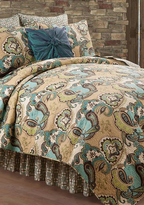 C&F Kasbah Paisley Quilt Set