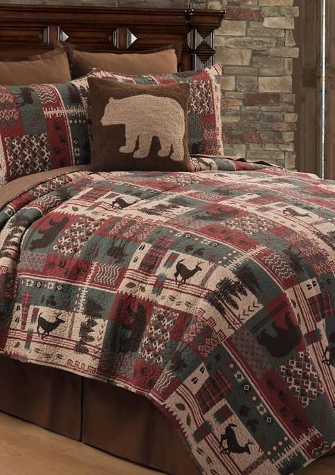 C&F Killian Ridge Rustic Lodge Quilt Set
