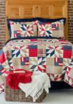 Levi Americana Patriotic Quilt Set