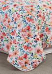 Nicole Floral Quilt Set