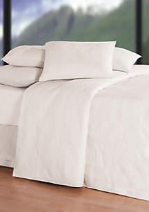 Hampton Soft White Matelasse Quilt