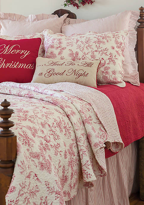 C&F Home Evergreen Toile Quilt Set