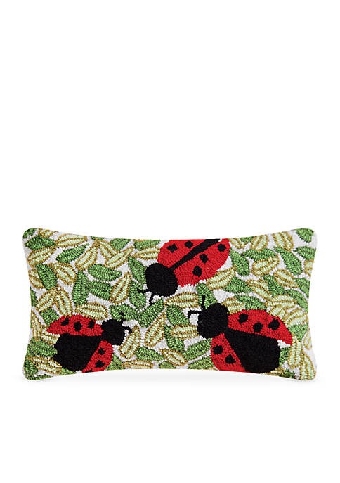 C&F Lady Bugs Decorative Pillow