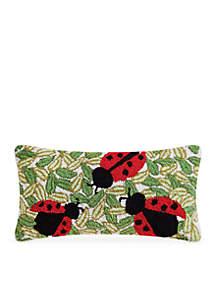 Lady Bugs Decorative Pillow
