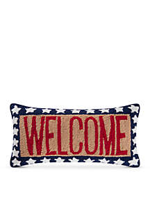 C&F Welcome Decorative Pillow