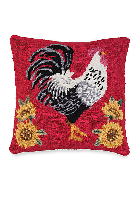 C&F Parisian Rooster Decorative Pillow