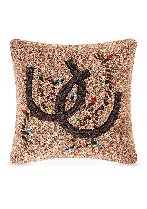 C&F Holiday Rodeo Decorative Pillow