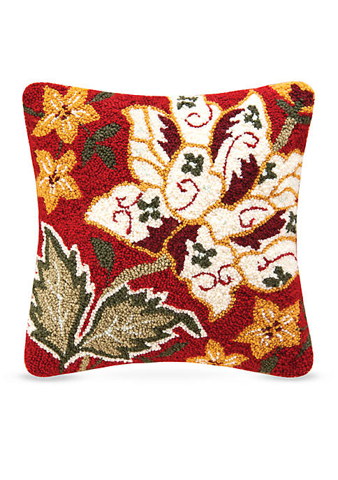 C&F Florentine Red Decorative Pillow