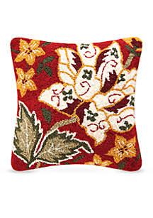 Florentine Red Decorative Pillow