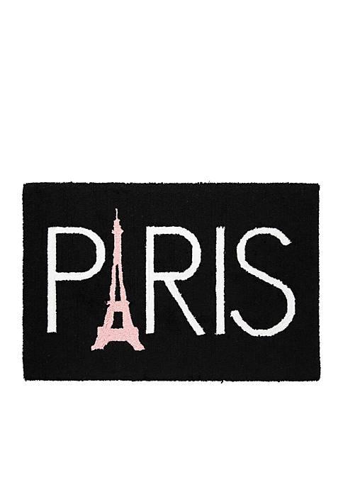 C&F Paris Hooked Rug