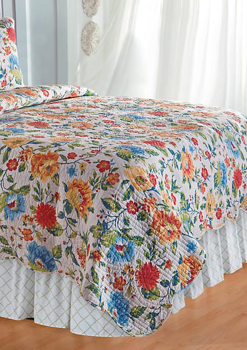 C&F Clarissa Twin Bedskirt