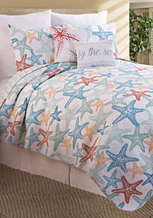 Starfish Festival Bedding Collection