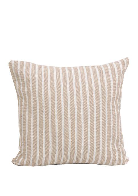 Carol & Frank Bengal Stripe Dune Pillow