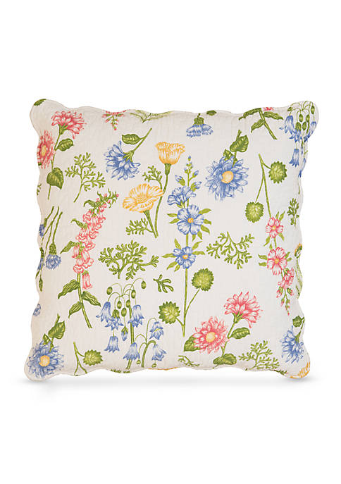 C&F Abigail Quilted Decorative Pillow