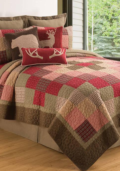 C&F Home Huckleberry Quilt Set