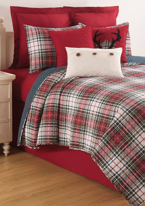 C&F Home Lennox Plaid Quilt Set