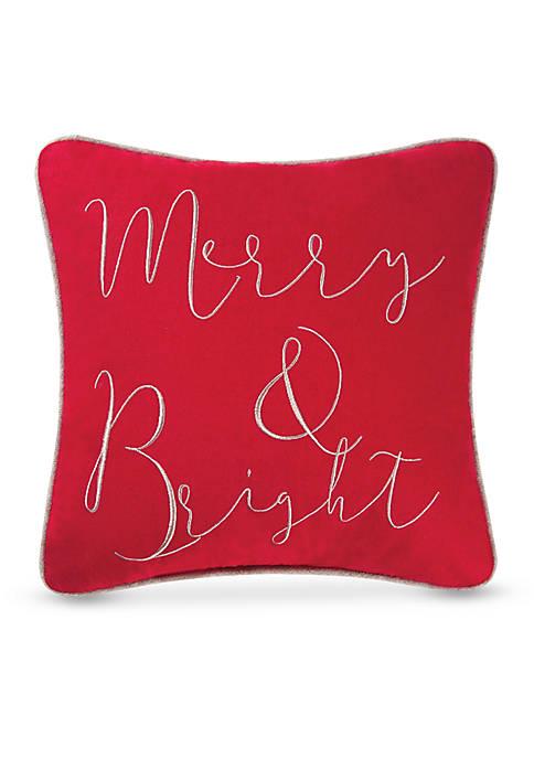 C&F Jazzy Merry Pillow