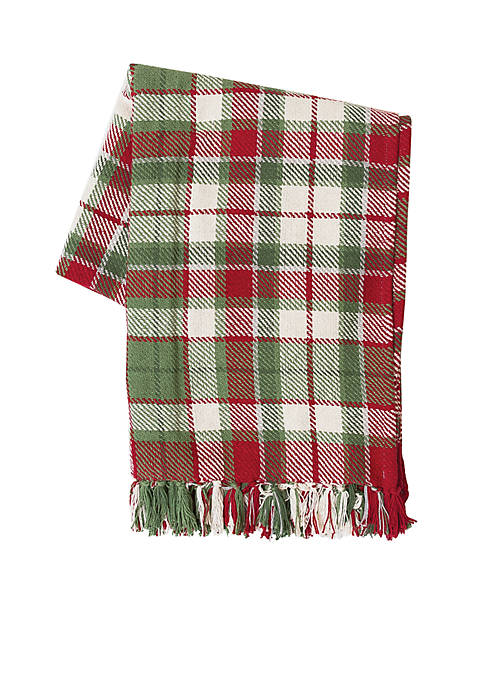 C&F Owen Plaid Throw