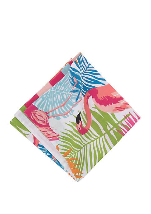 C&F Home Tropical Flamingo Napkin