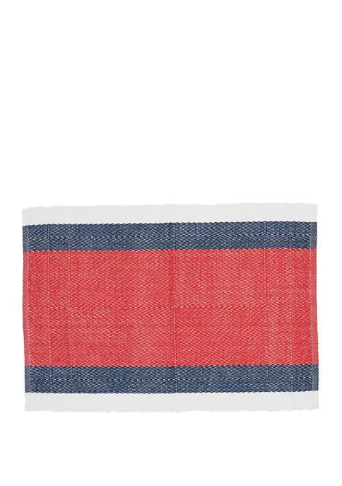 C&F Liberty Stripe Placemat