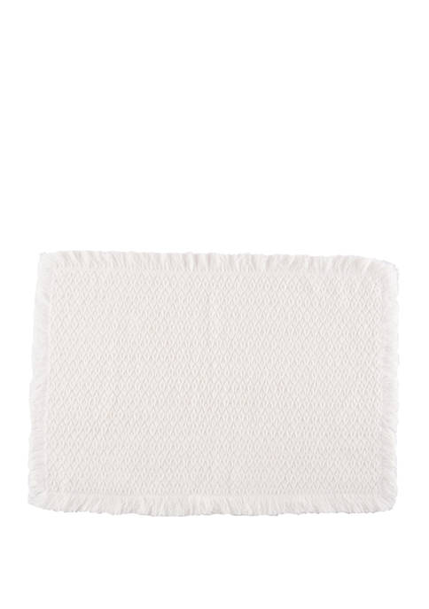 C&F White Placemat
