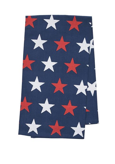 C&F Liberty Stars Kitchen Towel