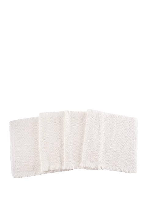 C&F White Table Runner