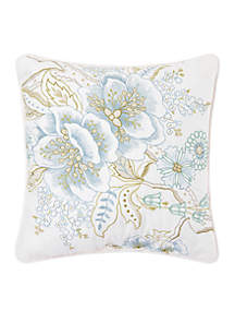 C&F Carlton Floral Throw Pillow