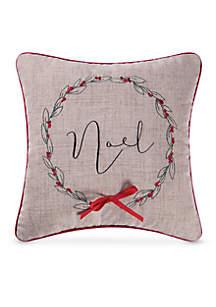 Jazzy Noel Pillow