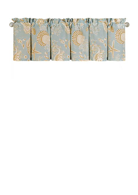 Natural Shells Valance Set of 2