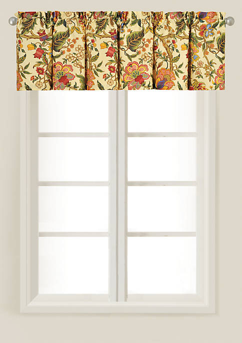 Vivienne Multicolored Tailored Valance 15.5-in. x 72-in.