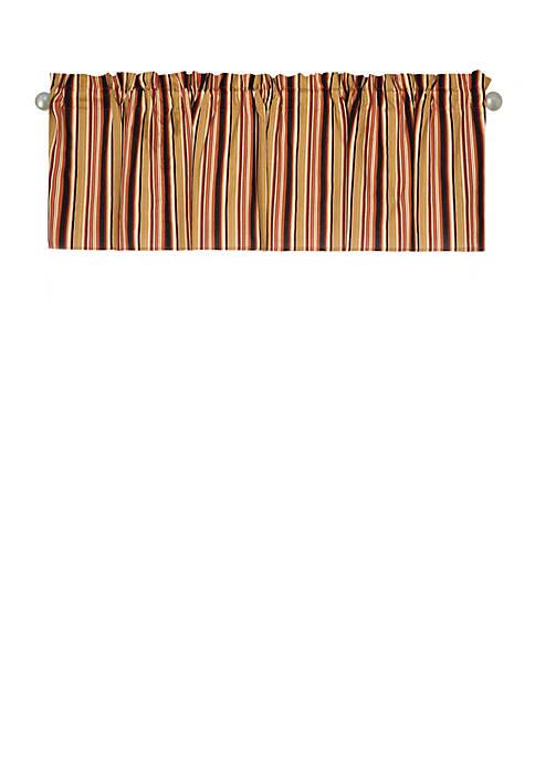 Rustic Stripes Valance Set of 2