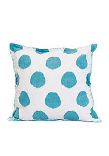 Polka Dot Decorative Pillow