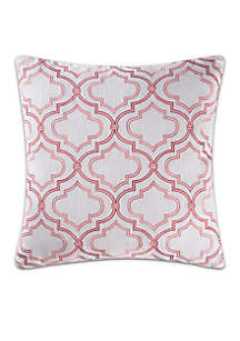 C&F Whitney Geometric Decorative Pillow