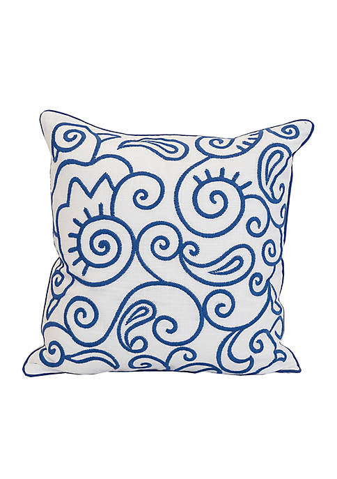 Carol & Frank Swirl Decorative Pillow