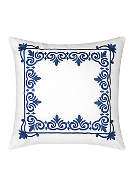 Renee Embroidered Throw Pillow